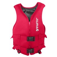 Men's Tank Tops Outdoor Vest Jacket For Swimming Boating Surfing Professional Drifting Child Adult Survival Floating Life Buoyancy Aid