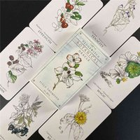 Best Selling Hedge Witch Botanical Oracle Cards 40 Pcs Wisdom From The Boundary Lands Tarot Deck Games With PDF Guidebook love E3RC