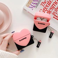 Heart Desinger Style Luxurys Airpods Pro Case Headphone Accessories for Apple Airpod 1 2 3 Creative Shockproof Earphones Protective Cover Cases good nice pretty