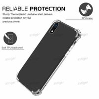 Soft TPU Clear Cases for Galaxy S10 iPhone 11 PRO XR XS MAX Anti-knock Huawei P20 Lite Transparent Shockproof Airbag Bumper Case
