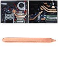 80 / 130 / 170 / 220 / 300mm 퓨어 구리 튜브 플랫 방열판 쿨러 노트북 노트북 팬 냉각