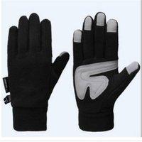 Designer Windproof Cashmere Gloves Touch Screen Mittens Winter Warm Finger Gloves