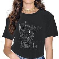 Women's T-Shirt Outdoor TShirt For Woman Girl Coleccion Minnesota Basic Sweatshirts T Shirt High Quality Trendy Loose