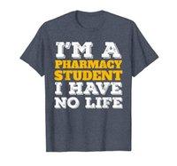 Camisa do estudante da farmácia Eu sou um estudante da farmácia que eu não tenho vida