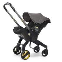 Carrinho de bebê 3 em 1 com assento de carro Carruagem portátil dobra o quadro de alumínio quadro de alumínio para carrinhos de bebê nascido #
