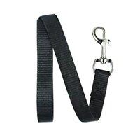 Largeur 1.5cm Long 120cm Nylon Laisses de chien de chien Pet Puppy Sangles Entraînement Noir / Blue Cheveux à corde Laisse Laisse de ceinture de corde 241 v2
