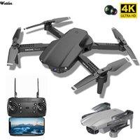 UAV DRONE PRO2 E99 con cámara HD 4K WIFI FPV RC Quadcopter con cámara de 1080p Mini Drone Helicopter Dron Toy Regalo de juguete mejor para niños Juguetes Q0602