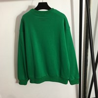 819 2021 High Quality Autumn Brand Same Style Sweaters Green red Regular Long Sleeve Crew Neck Long Pullover Women Clothes meiyi