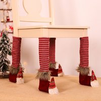 Jinmingguan new Christmas decorations linen forest table foot cover restaurant bar chair stool table supplies