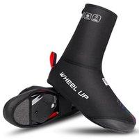 자전거 타기 오버 쇼 워터 방풍 방수 보호 발 커버 남성을위한 겨울 신발 열 따뜻한 MTB 신발 사이클링 신발