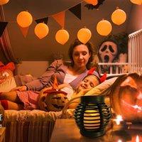 문자열 공예 플라스틱 등나무 촛불 램프 무대 소품 장식 안뜰 인테리어 교수형 진자 듀얼 - 목적