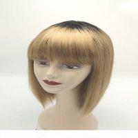 Barato preço de fábrica transparente dianteira 14-20 polegadas acessível peruca de cabelo humano
