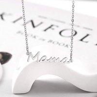 Narin Mektup Mama Kolye Anneler Sevgi Kolye Takı Anneler için En Minimal Kolye Anneler Doğum Günü Anneler Günü Hediyeleri-Z 156 U2