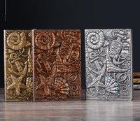 Bloco de notas A5 208 * 142mm PU couro escrita diário caderno caderno artesanal da UE Valentine Primavera festival pai pai professor de professor tanabata halloween