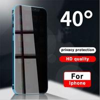 Privacy Screen Protector Shield Anti-Spy Peeping Real Temperato Vetro per iPhone 12 Mini PRO 11 XR XS Max 8 7 6 SE