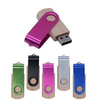 Ahşap USB Flaş Sürücüler USB2.0 4 GB 16 GB 32 GB 64 GB 128 GB Pendrive U Disk Bellek Sopa Metal Anahtarlık Düğün Hediyeleri Ile
