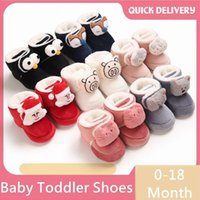 Baby Winter Boots Girl Boys Cute Annimals Warm Shoes Toddler...