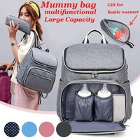 Fashion Mummy Maternity Diaper Bag Nursing Travel Backpack Designer Baby Care Nappy Solid Casual
