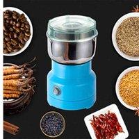 Mini Electric Food Chopper Processor Mixer Blender Pepper Garlic Seasoning Coffee Grinder Extreme Speed Grinding Kitchen Tools 210915