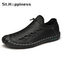 Dress shoes 2021 Summer Men Leather Shoes Luxury Brand Designer Original Loafers Mocassins Mode Casual Riding Big Size 48 0810