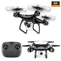 MINI DRONE 4K HD Kamera Luftdruckhöhe Aufrechterhaltung Faltbarer Arm Vier-Achsen Fernbedienung Flugzeug Geschenk Spielzeug Elektrische Fans