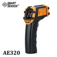 디지털 적외선 온도계 Termometrro 온도계 IR 비 접촉 레이저 온도계 색 LCD 온도 악기 210719