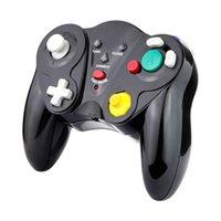 NGC 2.4G gioco cubo controller wireless wireless joystick gamepad joypad per Nintendo host / wii console giochi con scatola al dettaglio bianco