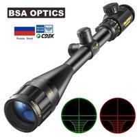 BSA OPTIC 6-24x50 AOE Tactics Optical Scope Sniper Gear Hunting Sights Spotting Scopes Airsoft Airgun Riflescope