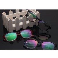 10 pçs / lote moda Óptica óculosframe simples óculos quadro para vintage lente clara frames óculos mulheres oculos de grau óculos de sol