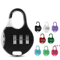 الجدة البنود اللون مصغرة قفل للحقيبة حقيبة الظهر القرطاسية كلمة المرور قفل طالب الأطفال السفر الأمن FWD5804