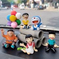 Blaue Fat Legierung Auto Puppe Toon Ornament Hero Innendekoration Spielzeug (viele)