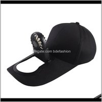 Caps Hats, Scarves & Gloves Fashion Aessoriessummer Fan Cooling Baseball Cap Hat Usb Charging Breathable Shade Sunscreen Fishing Sport Outdo