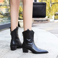 Famous Winter Kelly Buckles Jumping Knee Boots ankle boots Leather Women's Booty Ladies Martin flat-heeled black Brown Apricot Cool Knight Boot size 34-40