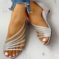 Sandals 2021 Spring Ladies Wedge Heel Casual Shoes Summer Women's