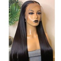 Lace Wigs 13X4 Front Human Hair For Women Swiss Frontal Wig Malaysian Straight Closure 4X4