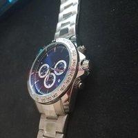 2021 Satış Erkek Saatler Patron Kuvars Hareketi İzle Tüm Fonksiyonel Küçük Arama Çalışma Kronometre Yaşam Tarzı Su Geçirmez Paslanmaz Çelik İzle Montre de Luxe6