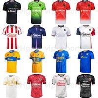 México Liga Clube MX 2021 2022 Futebol Jersey Tijuana Juarez Tigres Uanl CD Chivas Guadalajara Velazquez Castillo Gonzalez Macias Camisa de Futebol Kits uniforme