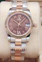 뜨거운 고품질 패션 숙 녀 시계 31mm Datejust 사파이어 방수 자동 기계식 시계 스포츠 womens 손목 시계 ch