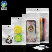 Película Pearl Plastic Selling Selling Bag Transparent Pearl White Teléfono Móvil Funda Embalaje Datos de Embalaje Cable Joyería