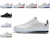 Classic Cortez Nylon RM Chaussures de course Rose Noir Triple Blanc Blanc Blanc Blanc Léger Chaussures Cuir BT QS Entraîneur Sneakers EUR 36-45