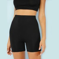 Yoga Outfits High Waist Spandex Workout Gym Shorts Sexy Women Fitness Pocket Cycling Biker Pants Solid Sport Leggings