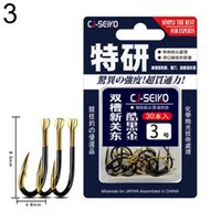 Fishing Hooks 30Pcs Alloy Barbed Hook Worm Bait Fishhooks Fish Lures Holder Tackle Tools Accessories