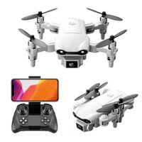 مصغرة v9 طائرة قابلة للطي التحكم عن طيار كاميرات مزدوجة 4K عالية الوضوح الجوي quadcopter الأطفال لعبة هدية