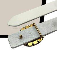 La qualità più venduta, la moda donna cintura cintura in vera pelle cinghia cinture, bottone per perle d'oro cristallo fibbia femminile cinture per le donne hip bel cgl