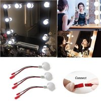 Vanity Lights DIY Connectable 12V LED Dimmable Cosmetic Mirror Bulb Ball Makeup Lamps Accessories For Hollywood