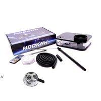 Shisha Device Desktop Hookah Thee Set Stijl DAB RIG met regelbare LED-verlichting 5 kleuren Party Bar Dabber Pipe DWD8105