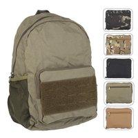 Mochila plegable de los hombres tácticos bolsa de viaje bolsas de hombro Viaje deportivo al aire libre Mano camping multifunción