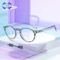 Anti Blue Light Lesebrille Männer Frauen Presbyopic Brillen Frühlingsscharnier TR90-Rahmen Hyperopie-Diopter +1.0 bis 4.0 Sonnenbrillen