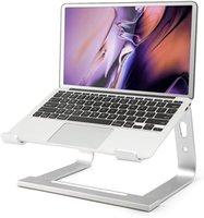 Supporto per laptop supporto alluminio Supporto ergonomico compatibile con MacBook Air Pro Dell XPS More 10-17 pollici di lavoro dal raffreddamento ausiliario domestico