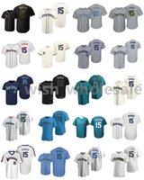 2021 야구 유니폼 카일 15 Seager Jersey Matt Chapman Max Scherzer Miguel Cabrera Mike Trout Mookie Betts Kris Bryant Stitched